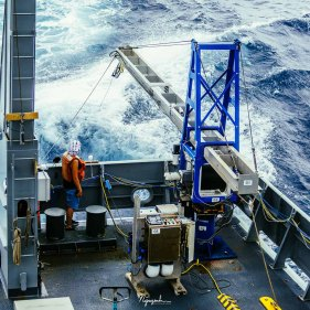 While the instrument is automated, the winch and level-wind need to be monitored at all times.